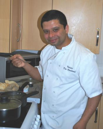 Top chef Sanjay Kumar
