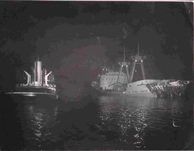 Look back in time: Pollution scare from Falmouth's biggest shipwreck
