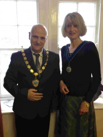Porthleven has new mayor as Mark Berryman bows out