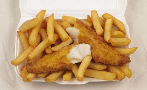 Cheap as chips! Harbour Lights in Falmouth celebrates Norway Day with 99p portions