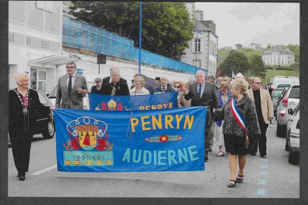 Forty years of Penryn twin town friendships celebrated