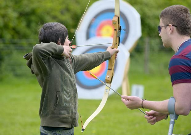 Try out archery on the Lizard Peninsula - TODAY