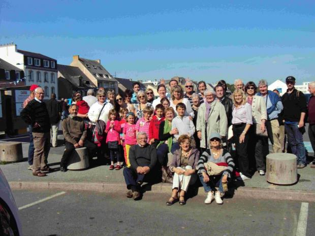 Mabe Twinning Association visits French friends