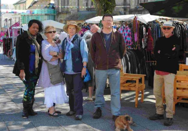 Market traders return to Falmouth Moor after last minute talks