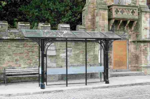 What the new Coinagehall Street bus shelters should look like