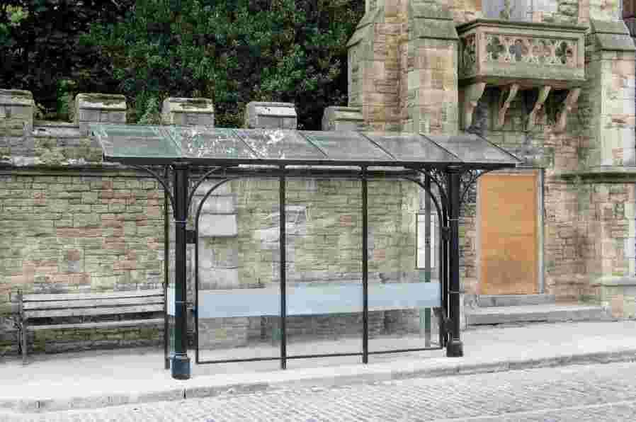 Exclusive first look at new Helston bus shelters: PICTURE