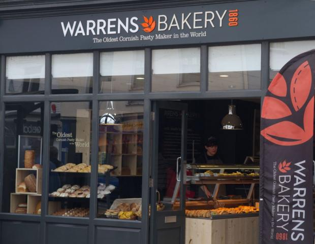 What do you think of the Warrens Bakery rebrand?