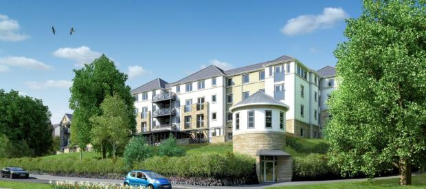 Falmouth Packet: An artist impression of the development