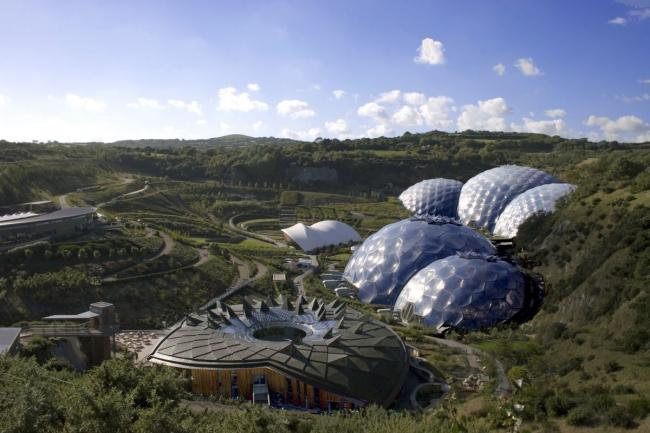 Take a global journey across the gardens at the Eden Project