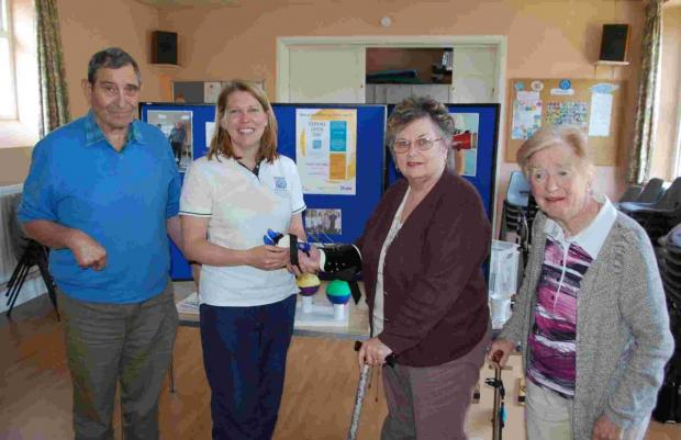 Expert advice helps Falmouth Stroke Club