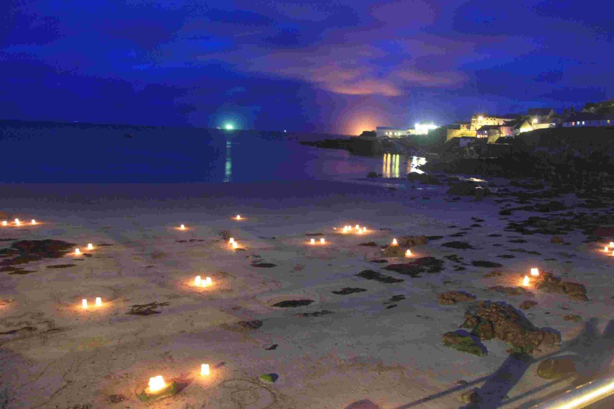 Coverack twinkles for 'Night of Lights: PICTURES