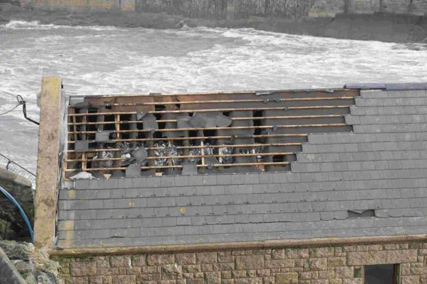 Repairs completed at storm battered former lifeboat station in Porthleven