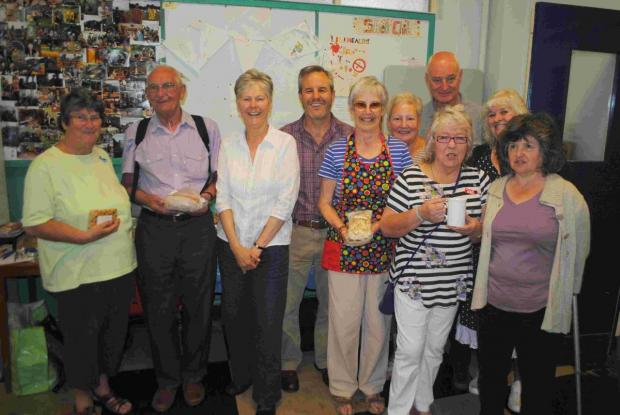 Coffee and cake helps raise Trescobeas Surgery funds