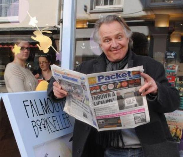 Comic legend Rik Mayall has died