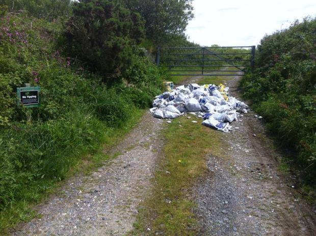 Fly tipped waste at BF Adventure 'not the donation they were hoping for'