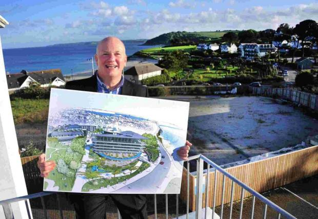 Falmouth Packet: Huge resort plans for fire ravaged Falmouth Beach Hotel site unveiled: DETAILS