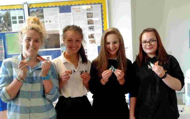 Employers go back to school to inspire Penryn pupils