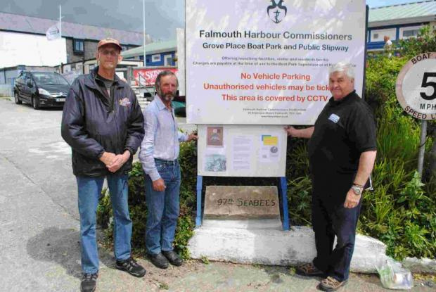 US Navy 'Seabees' that helped build Falmouth's waterfront remembered