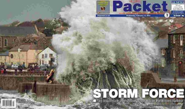 £434,786 to help repair storm damage at Porthleven harbour