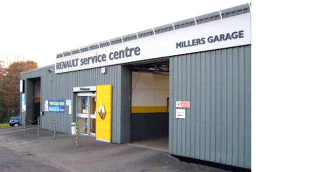 Falmouth Packet: Millers Garage
