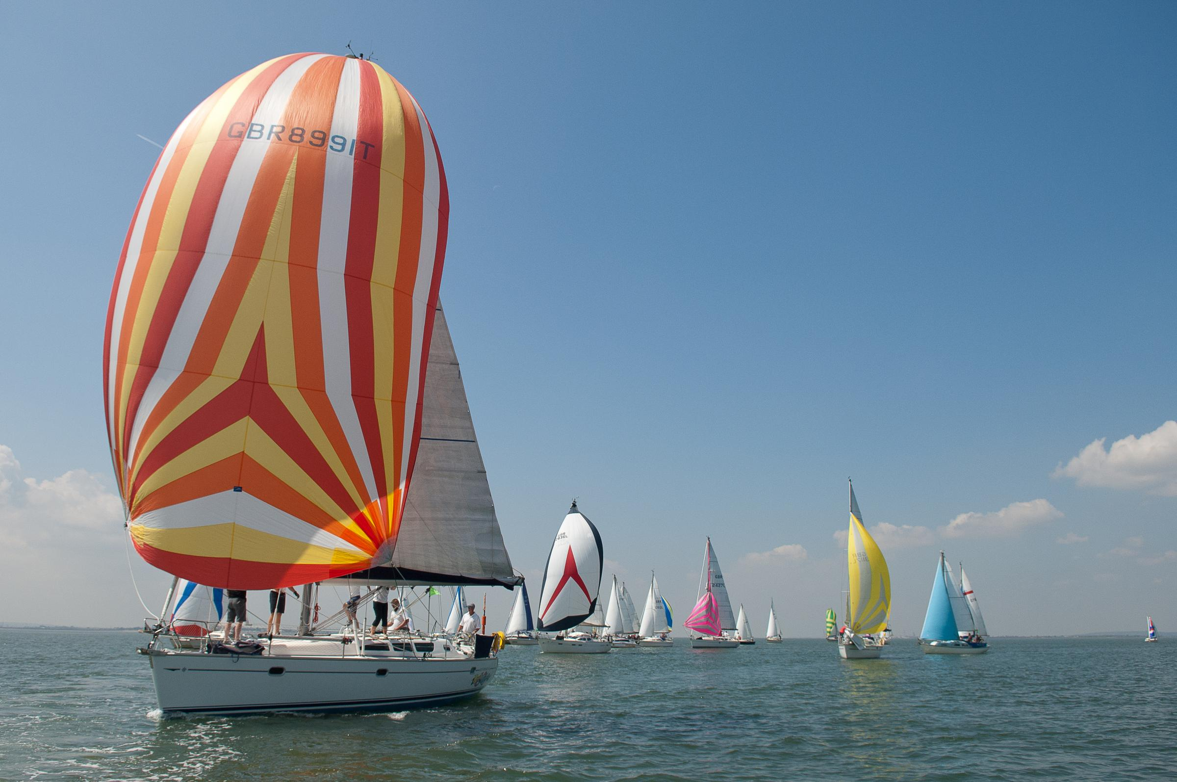 SAILING: Hine-Downing Summer Series stages third race