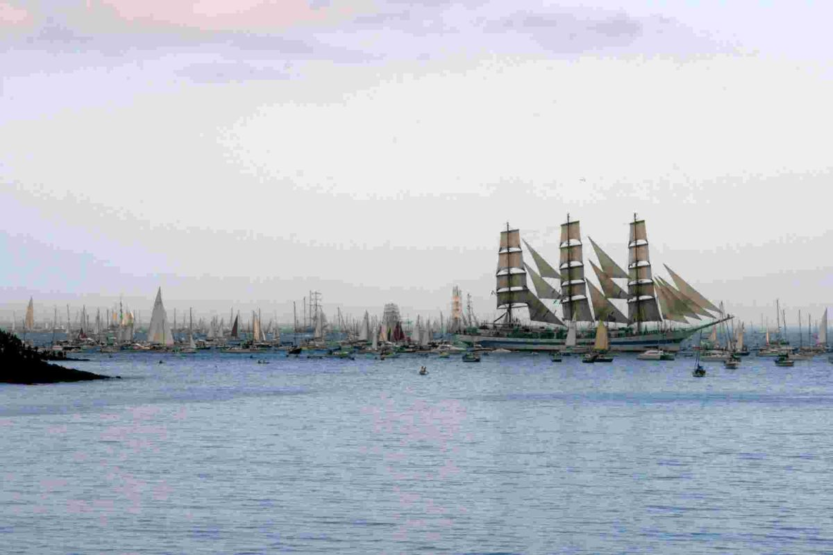 Countdown to Falmouth Tall Ships in single figures