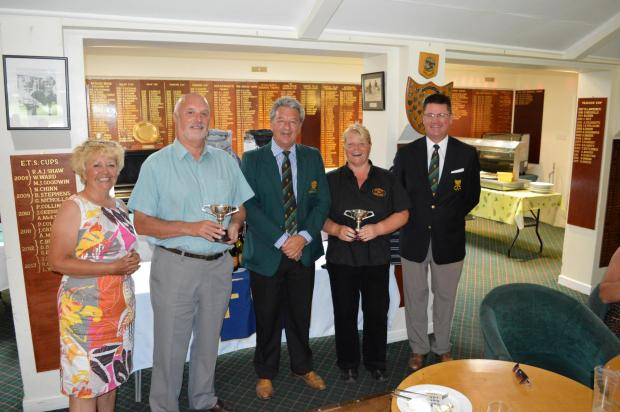 GOLF: Husband and wife team win Pennance Cups