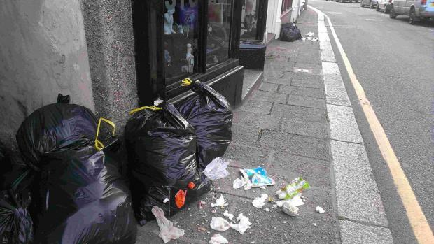 Fines on the way as rubbish being thrown around Helston with 'gay abandon'