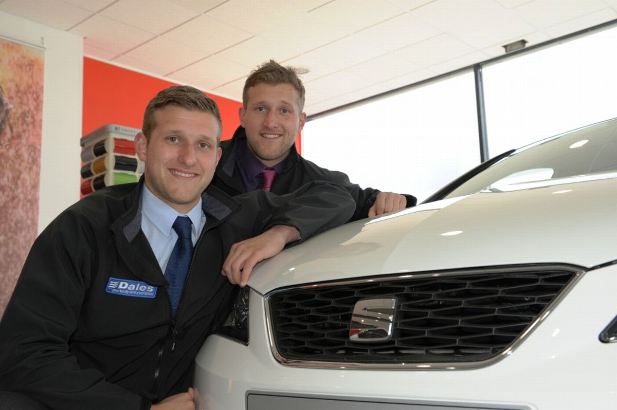 Twins compete for the top salesman spot at Cornish car dealership