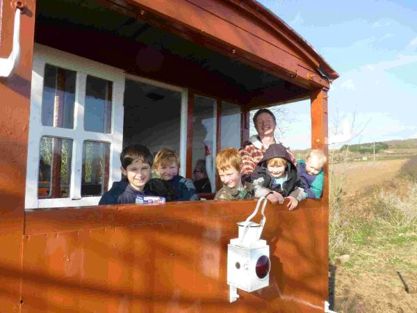 The revived railway attracts families as well as holidaymakers.