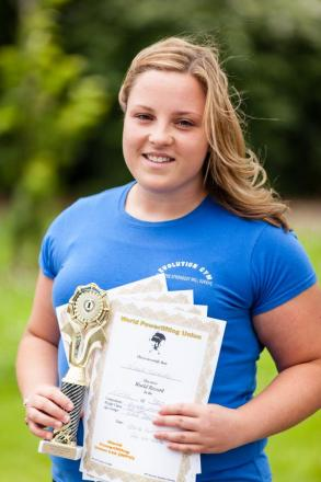 POWERLIFTING: Nicola picks up powerlifting title and four world records