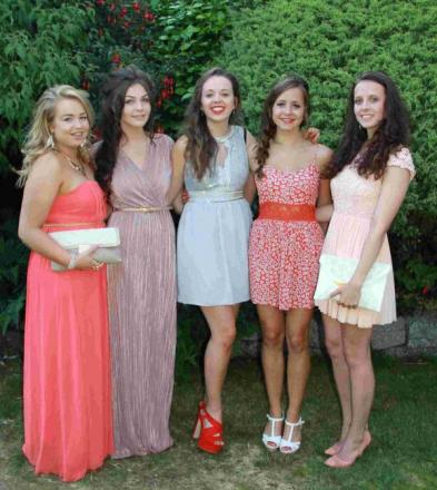 Last year's Helston College sixth form students return for Post-16 prom: PICTURES