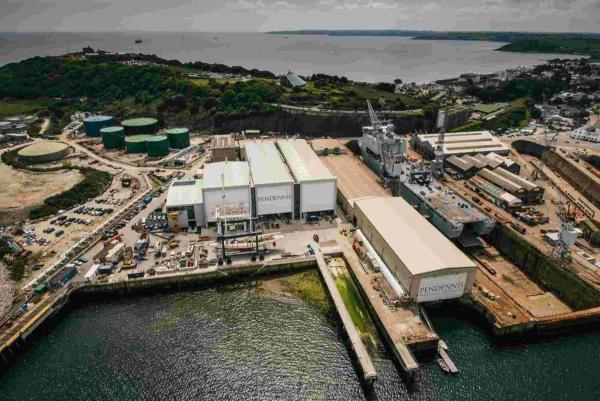 Pendennis shipyard in Falmouth ready for next stage of transformation