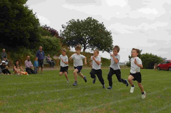 Pupils 'flushed' with success after sports day: PICTURES