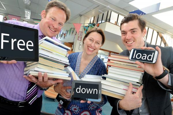 New new free ebooks service for Cornwall library users