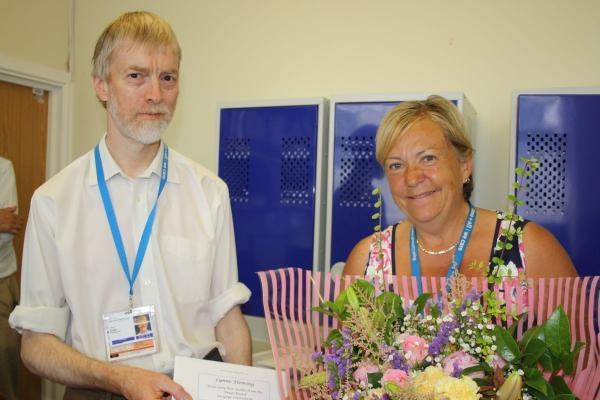 Farewell to Pharmacist at Royal Cornwall Hospital after 36 years