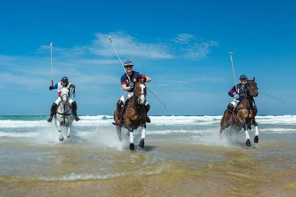 Falmouth Packet: Record year for 'Polo on the Beach' at Watergate Bay: VIDEO