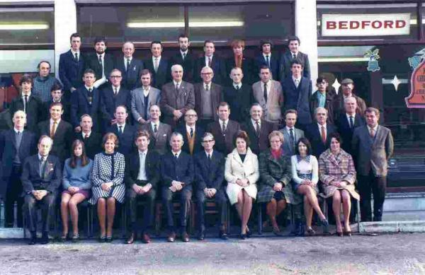 Our picture shows staff at Wincanton Garages during the 1970s.