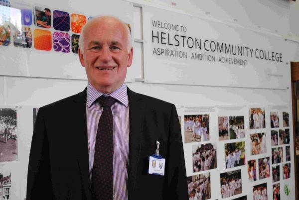 Retiring head of Helston College looks back at time in charge: INTERVIEW