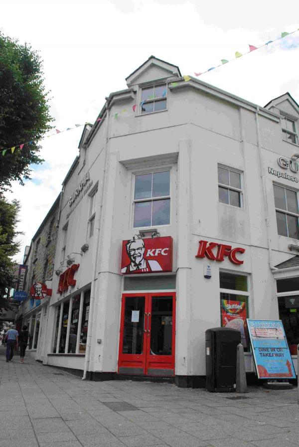 Blood, grease, and filthy flooded floor closes Falmouth KFC