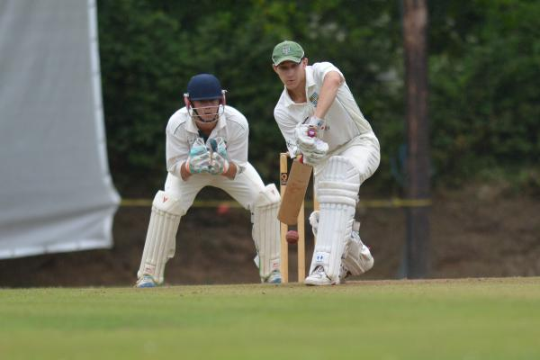 Scott Kellow during his innings of 46. Picture: DAVID J BLANKS/CARTEL