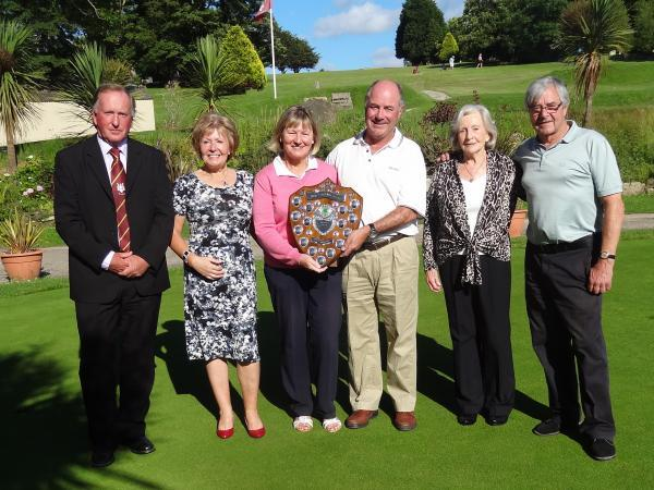 John and Sue Rule receive the Cook Martin Shield