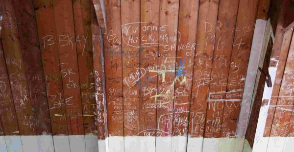 Did you leave your mark at Helston's Green School in Penrose Road?