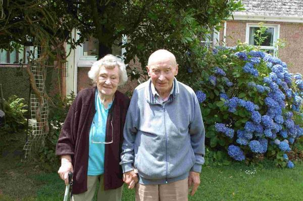 Mabe couple celebrate 70 years of marriage after WWII 'last waltz' sparked romance