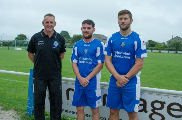 FOOTBALL: Taylor is happy with Helston signings