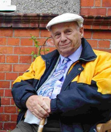 Who should councillor Andy Wallis bump into but Helston old timer Ivan Perry (pictured)