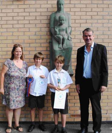 St Mary's pupils receive special technology awards