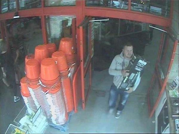 West Cornwall fraud suspect sought after shower box returned to B&Q filled with bricks: CCTV