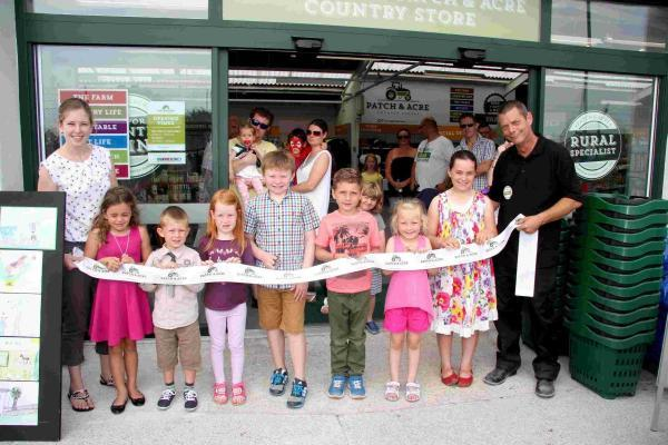 Family fun day at new Helston Patch and Acre store: PICTURES