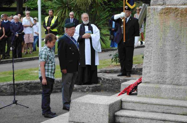 Falmouth commemorates 100th anniversary of World War One: PICTURES